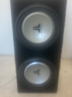 Orange 8'2 In. Subs JL Audio Sealed Strips for Sale in Anaheim,  CA