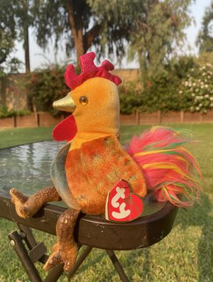 Rooster ty beanie babies zodiac edition for Sale in San Jose, CA