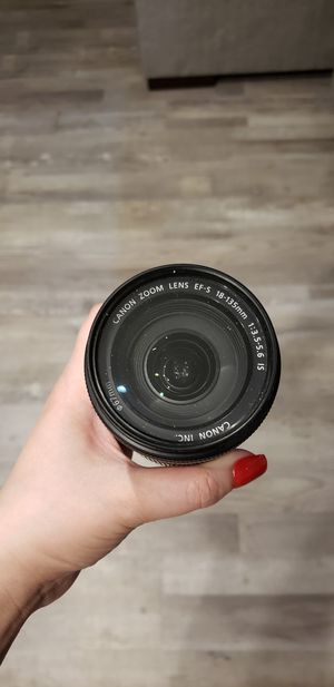 Canon 18-135mm for Sale in Chicago, IL