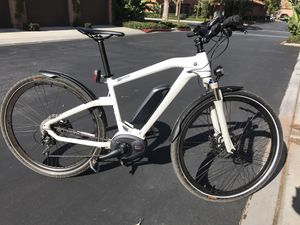 BMW Cruise E-Bike Pedal assist electric bicycle with front suspension for Sale in Irvine, CA