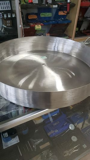 """Cooking pan 23"""" (stainless steel) for Sale in Houston, TX"""