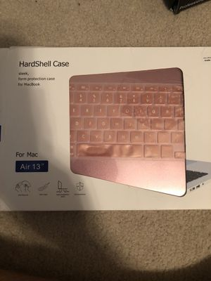 Apple computer case and keyboard sticker for Sale in Murfreesboro, TN