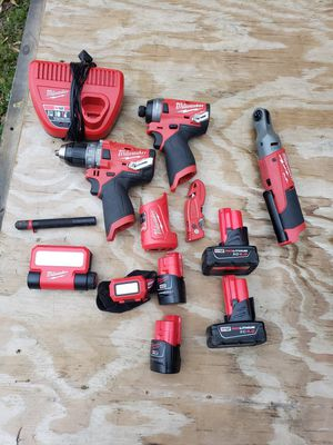 Milwaukee fuel tools for Sale in Southaven, MS