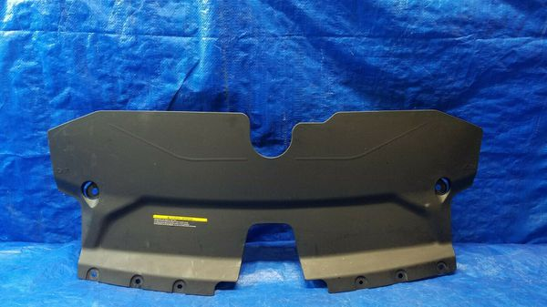 2014 - 2015 INFINITI Q50 RADIATOR ENGINE SUPPORT BAFFLE COVER # 35671