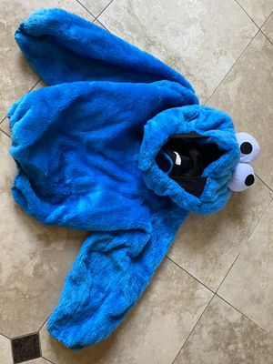 Teen Cookie Monster Halloween costume for Sale in Encinitas, CA