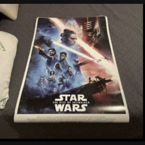 Star Wars the rise of Skywalker Movie Poster for Sale in Houston, TX