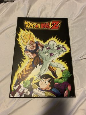 Dragon ball z poster/canvas for Sale in Austin, TX