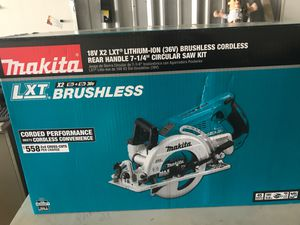 LXT 12v x2 LITHIUM Circular Saw Kit for Sale in San Diego, CA