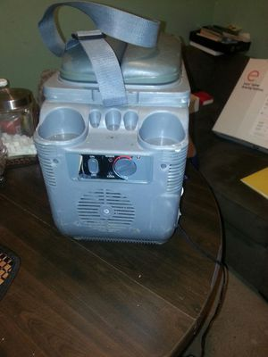 Hot/cold cooler with a car plug. for Sale in US
