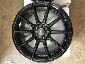 "Brand New 18"" Inch Diablo D10 All Gloss Black 18X8 Wheels Rims Rines 5X100 5X3.94 5X114.3 5X4.5 for Sale in Austin, TX"