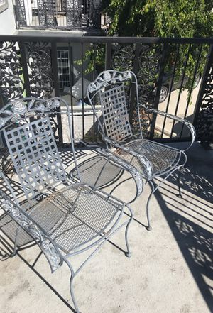 Two patio chairs for Sale in Costa Mesa, CA