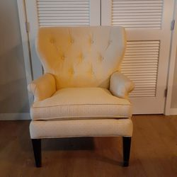 Yellow Wingback Arm chair for Sale in Issaquah,  WA