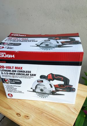 Cordless 6 1/2: inches circular saw New for Sale in Clearwater, FL