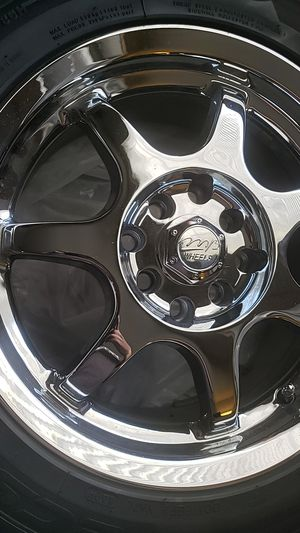 MB rims with tire for Sale in Lynnwood, WA