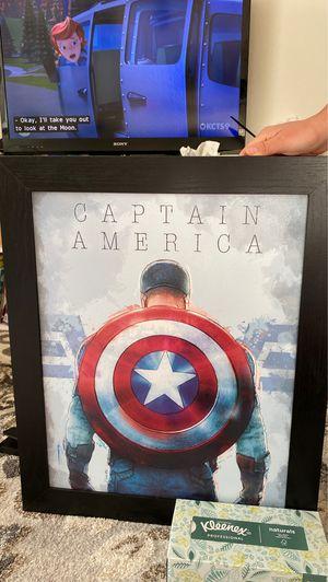Captain America poster for Sale in Seattle, WA