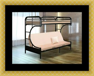Twin futon bunk bed frame for Sale in Mount Rainier, MD
