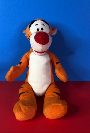 "DISNEY TIGGER PLUSH STUFFED ANIMAL #DS15210 STANDING 10"" H EXCELLENT PRE-OWNED for Sale in LOS RNCHS ABQ, NM"
