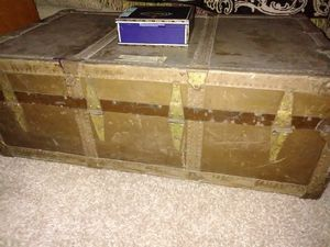 Vintage headley and Farmer trunk number 29 for Sale in Dryden, NY