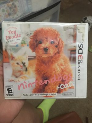 Nintendogs plus cats Nintendo 3ds game for Sale in Lakeside, TX