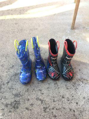 Kids rain boots for Sale in El Cajon, CA