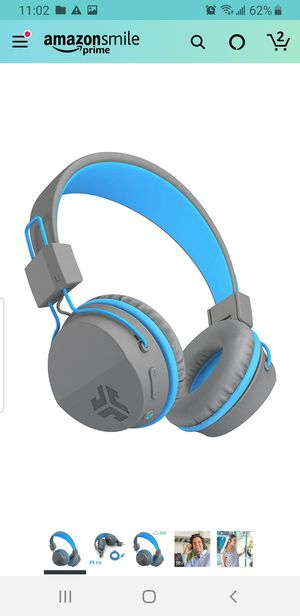 Jlab JBuddies kids headphones in blue for Sale in Duluth, GA
