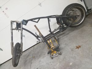 Demon Custom Chopper Sotail frame for Sale in Columbiaville, MI