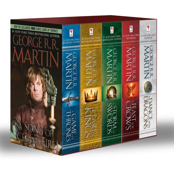 A Song of Ice and Fire (Game of Thrones) Book Ser