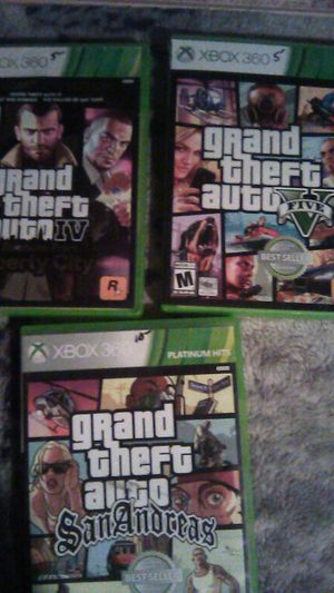 X Box 360 Games for Sale in Reedley, CA