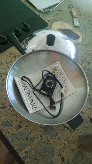 Farberware electric wok for Sale in Livermore, CA