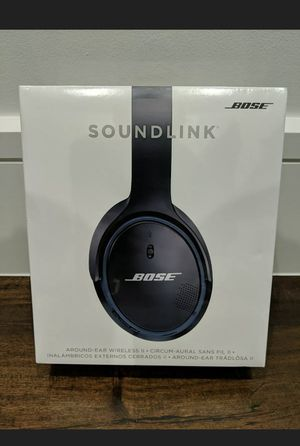 NEW/SEALED - Bose Soundlink Around-Ear Wireless Headphones II - Black. Will ship same day. for Sale in Washington, DC