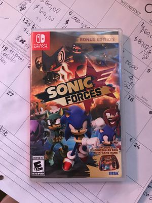 Trade Nintendo Switch Game Sonic Force for Sale in Boca Raton, FL