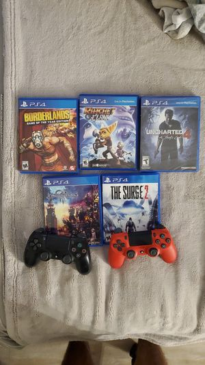 Unused controllers and games for Sale in Belmont, CA