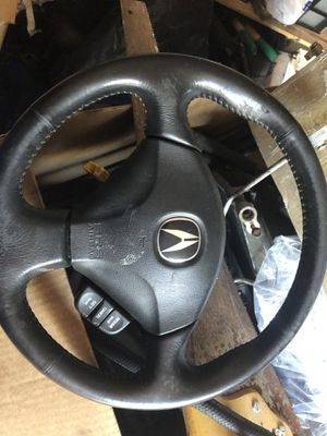 Rsx black leather steering wheel for Sale in Queens, NY