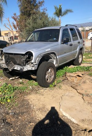 2002 jeep liverty parts or rolling vehicle , no engine or tranny for Sale in Ontario, CA