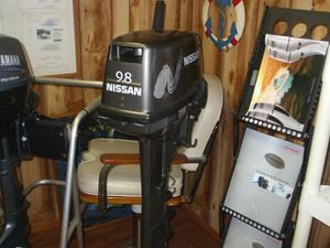 Nissan 9.8hp 2 stroke outboard motor for Sale in Orion charter Township, MI