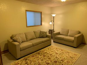 Couch and Love Seat Queen Hide-a-Bed Made USA for Sale in Manson, WA