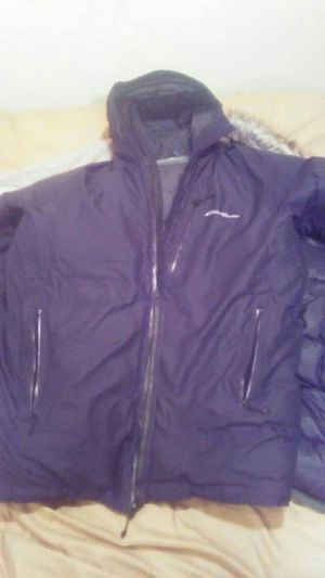 All Black Eddie Bauer Trench coat for Sale in Mount Rainier, MD