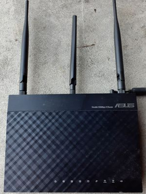 Asus wireless N Dual Band long range router Rt-N66R First come first served 49$ OBO for Sale in Chatsworth, CA