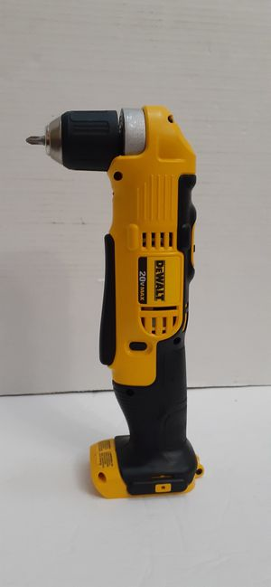DEWALT 20-Volt MAX Lithium-Ion Cordless 3/8 in. Right Angle Drill 2 speed(Tool-Only) brand new nuevo for Sale in San Bernardino, CA
