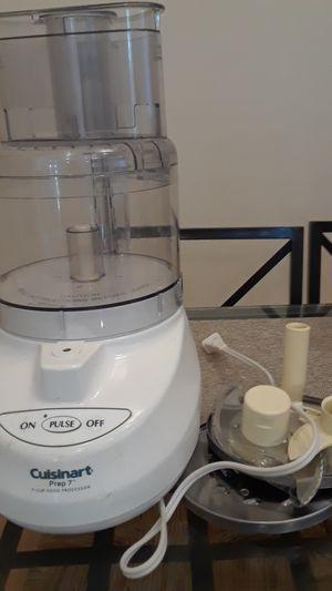 Cuisinart 7 cup food processor for Sale in Santa Ana, CA
