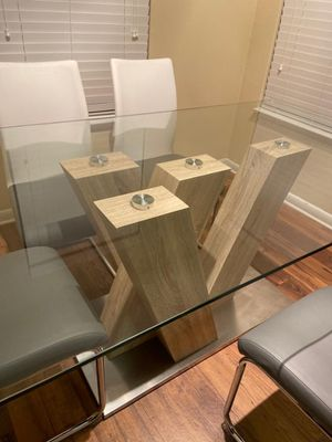 Solimar Gray 5-Piece Casual Dining Set for Sale in FL, US