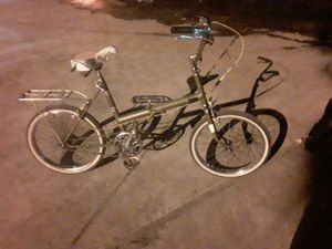 Vintage rare 1975 England Raleigh twenty inch folding bike for Sale in Las Vegas, NV