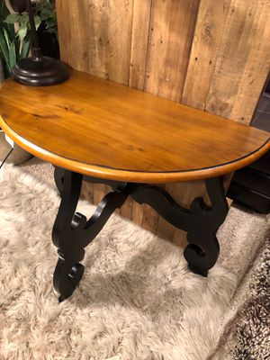 Pier 1 imports farmhouse rustic wood Entry table console for Sale in San Diego, CA