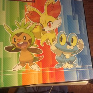 Full 3 Ring Binder Pokémon Card Folder, Filled With Pokémon Cards. for Sale in Placentia, CA