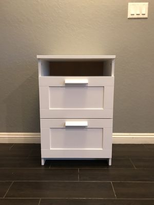 white IKEA night stand for Sale in Artesia, CA