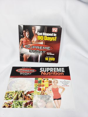Supreme 90 day workout DVDs for Sale in Perris, CA