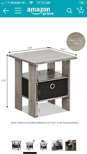 80 %new end table nightstand. Pick up after 12/31/2019. for Sale in New York, NY