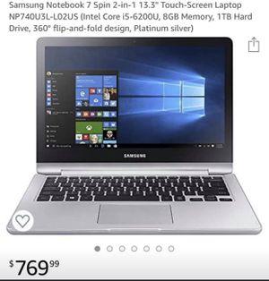 Laptop Samsung for Sale in Dallas, TX