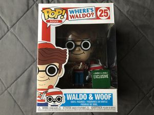 Funko Pop Where's Waldo & Woof vinyl figure toy for Sale in Los Banos, CA