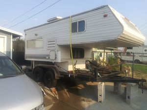 Cabover camper /tiny house/extra room?with full bathroom fits 8ft truck bed for Sale in Imperial Beach, CA